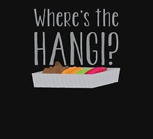 Wheres the HANGI? (New Zealand) KIWI food cooked in a pit Unisex T-Shirt