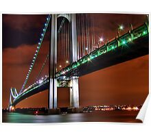 Verrazano Bridge Poster