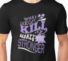 Stronger- KELLY CLARKSON Lyric Shirt *PURPLE* Unisex T-Shirt