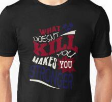 Stronger- KELLY CLARKSON Lyric Shirt *BLUE/RED* Unisex T-Shirt