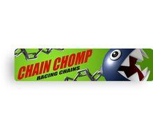 Mario Kart 8 Chain Chomp Canvas Print