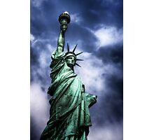 Classic Lady Liberty Photographic Print