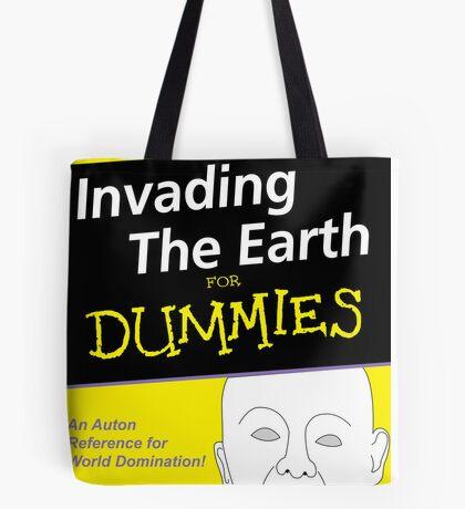Dr Who Auton Joke Tote Bag