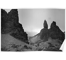 View from The Storr Poster