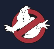 Original Ghostbusters Logo (in colour) Kids Clothes