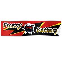 Mario Kart 8 Fuzzy Battery Poster