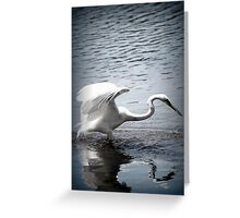 Caught You by Lorraine McCarthy Greeting Card