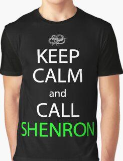keep calm and call shenron anime manga shirt Graphic T-Shirt