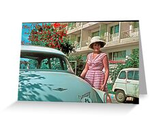 My Mother . GOLDEN SANDS - BULGARIA - 1964 . by Doctor Faustus . Greeting Card