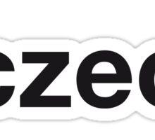 CZECH Sticker
