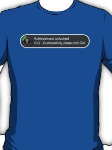 XBox Achievements - Pleasured Girl T-Shirt