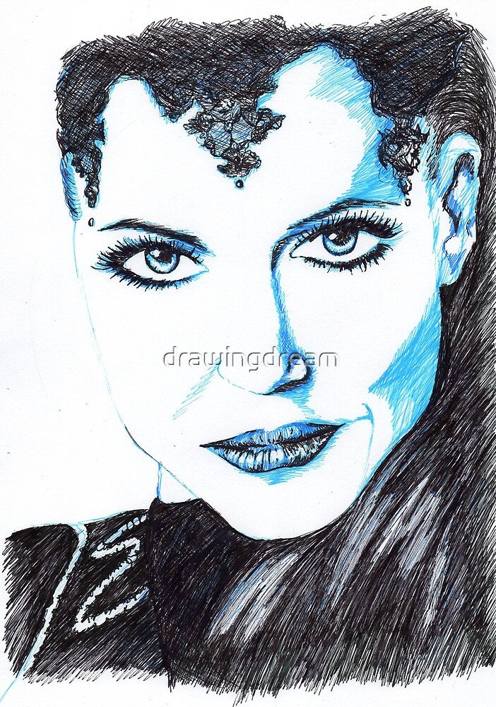 Evil Queen [OUAT] by drawingdream