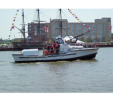 U.S. Coast Guard and Bounty II - Bay City - Tall Ship Celebration (2010) Photographic Print