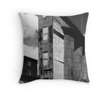 Morrison Feed Mill Throw Pillow