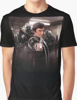 """Blake's 7 - Avon   """"The end?"""" Graphic T-Shirt"""