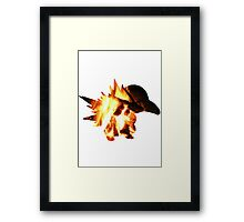 Cyndaquil used Ember Framed Print