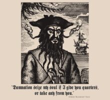 Pirate Blackbeard - Quote by jeastphoto