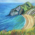 Man O' War Beach, Dorset by Susan Duffey