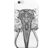 Decorated Elephant iPhone Case/Skin