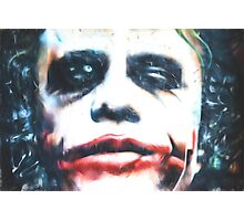 Why So Serious? (GO1) Photographic Print