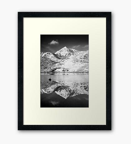 Snowdon, Winter. Framed Print