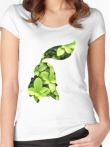 Chikorita used Razor Leaf Women's Fitted Scoop T-Shirt
