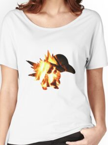 Cyndaquil used Ember Women's Relaxed Fit T-Shirt