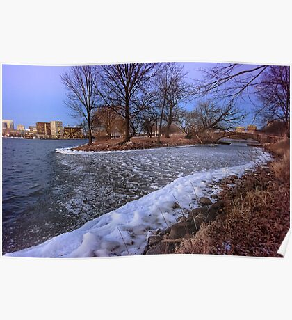 Esplanade's Frozen Shallow Poster