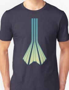 Retro Lines - Blue Flame T-Shirt