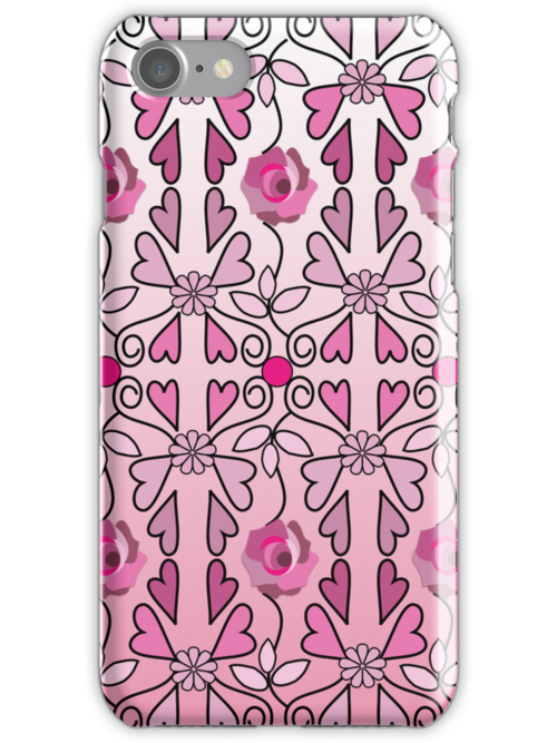 Cute Romantic Valentine's day case by walstraasart