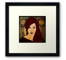 Untitled Portrait Framed Print