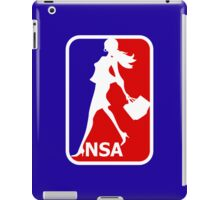 NSA - National Shopping Association iPad Case/Skin