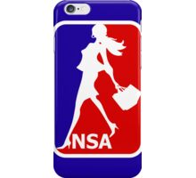 NSA - National Shopping Association iPhone Case/Skin