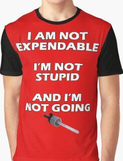 Blake's 7 Quote Graphic T-Shirt