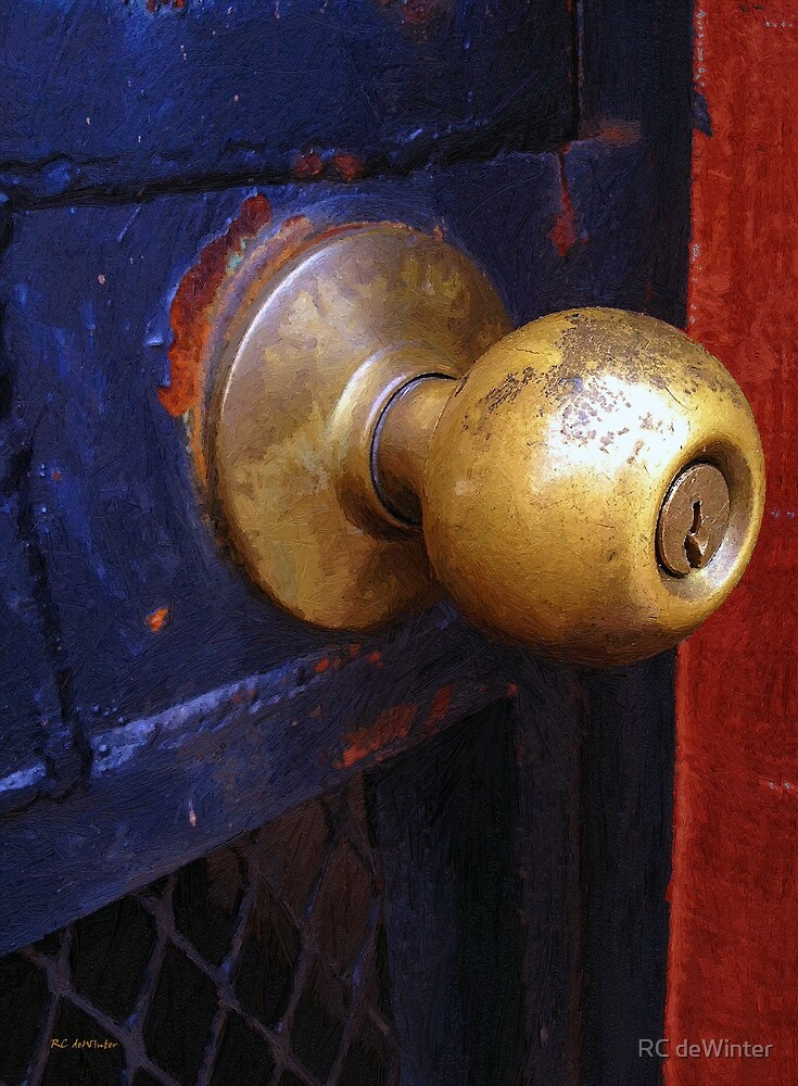 There's a Key Here Somewhere by RC deWinter