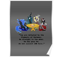 Villains at Play Poster