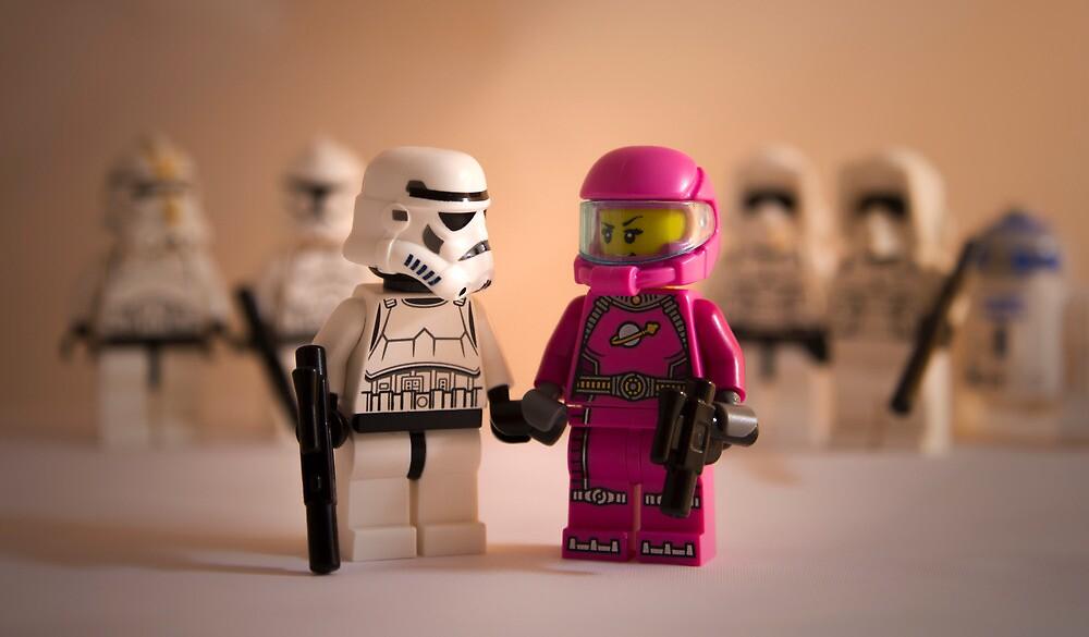 Pretty in pink. by Alex Bonner