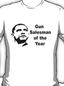 Gun Salesman of the Year T-Shirt