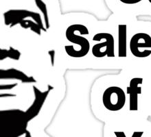 Gun Salesman of the Year Sticker