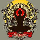 Meditation brings wisdom by ramanandr