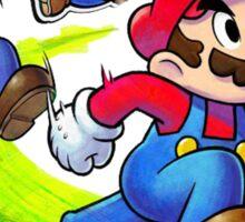 Mario and Luigi Brothers - Nintendo Sticker
