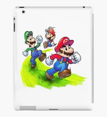 Mario and Luigi Brothers - Nintendo iPad Case/Skin