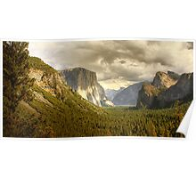 El Capitan in Yosemite Poster
