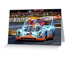 Porsche 917 at Le Mans Greeting Card