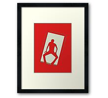 Dancer Michael Jackson Framed Print