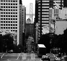 The street of San Francisco by kurtolo