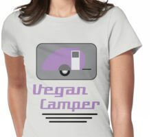 Vegan Camper Womens Fitted T-Shirt