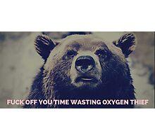 Oxygen Thief Photographic Print