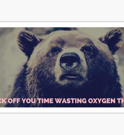 Oxygen Thief Sticker
