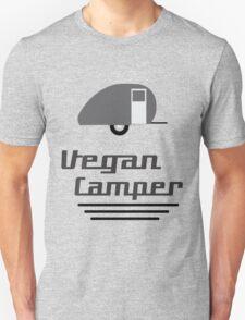 Vegan Camper in Black T-Shirt
